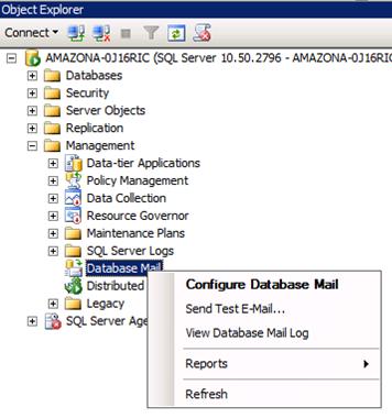 Using Microsoft SQL Server 2008 R2 with Amazon SES | AWS